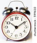 old fashioned alarm clock | Shutterstock . vector #599610