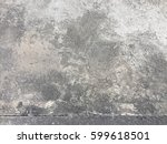old cement or concrete wall... | Shutterstock . vector #599618501