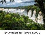 iguazu falls national park....   Shutterstock . vector #599656979