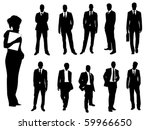 business people | Shutterstock .eps vector #59966650