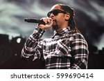 Small photo of BOSTON-DEC 14: Rapper Lil Jon performs in concert at KISS 108's Jingle Ball 2014 at TD Garden on December 14, 2014 in Boston.