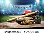 sport time  | Shutterstock . vector #599706101