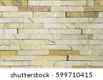 background of brick wall | Shutterstock . vector #599710415