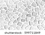 the pebble stone floors and... | Shutterstock . vector #599711849