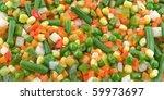 Mix Vegetable Background Pea ...