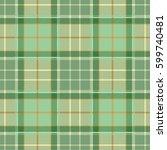 tartan plaid seamless cloth... | Shutterstock .eps vector #599740481