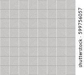 seamless vector abstract... | Shutterstock .eps vector #599756057