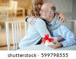 portrait of loving mature...   Shutterstock . vector #599798555