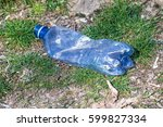 plastic bottle in the nature | Shutterstock . vector #599827334