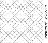 abstract black seamless pattern....   Shutterstock .eps vector #599829875