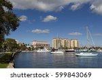 Sailboats In Tampa Bay