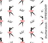 Ballet Dancers Seamless Patter...