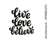 hand drawn typography text.... | Shutterstock . vector #599882291