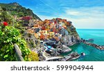 Beautiful View Of Manarola Tow...