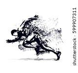vector illustration of a... | Shutterstock .eps vector #599907311