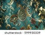 circa 2007  detail of jade... | Shutterstock . vector #599930339