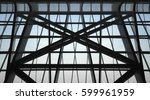 underside view of structural... | Shutterstock . vector #599961959