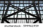 underside view of structural... | Shutterstock . vector #599961959