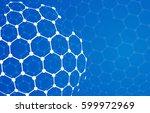 vector modern techology concept ... | Shutterstock .eps vector #599972969