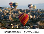goreme  turkey   august 06 ... | Shutterstock . vector #599978561