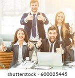 success concept in business  ... | Shutterstock . vector #600025445