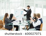 senior manager of the company... | Shutterstock . vector #600027071