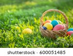 Happy Easter. Colorful Easter...