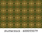 for printing on fabric ... | Shutterstock . vector #600055079