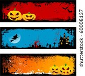 grunge halloween backgrounds | Shutterstock .eps vector #60008137