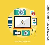 photography icon | Shutterstock .eps vector #600094004