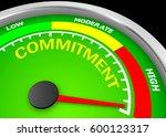 commitment level to maximum... | Shutterstock . vector #600123317