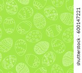 seamless simple pattern with... | Shutterstock . vector #600147221
