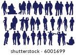vector people | Shutterstock .eps vector #6001699