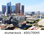 los angeles   march 8  aerial... | Shutterstock . vector #600170045
