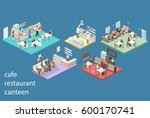 isometric flat 3d concept... | Shutterstock . vector #600170741