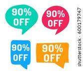90  off. hand drawn speech... | Shutterstock .eps vector #600179747