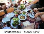 thai food | Shutterstock . vector #600217349