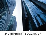 low angle view of modern office ... | Shutterstock . vector #600250787