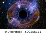 stars are collapsing in a deep... | Shutterstock . vector #600266111