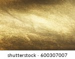 gold background or texture and... | Shutterstock . vector #600307007
