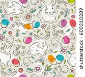 seamless  pattern with color... | Shutterstock .eps vector #600310289