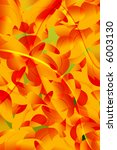 colorful fall illustration. | Shutterstock . vector #6003130