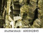 Rock Texture In Mauritius