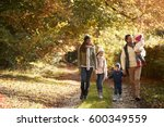 front view of family enjoying... | Shutterstock . vector #600349559