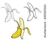 vector set of different... | Shutterstock .eps vector #600365261