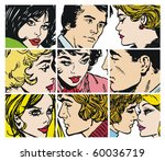 collection of illustrations...   Shutterstock . vector #60036719