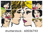 collection of illustrations... | Shutterstock . vector #60036743