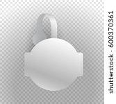 shelf wobbler discount label... | Shutterstock .eps vector #600370361