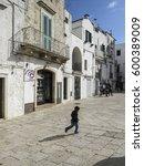 cisternino  puglia  italy   28... | Shutterstock . vector #600389009
