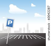 parking area | Shutterstock .eps vector #60042287